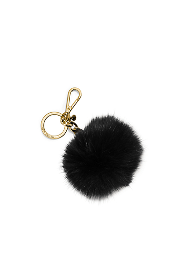 Fur Key Chain by Michael Kors