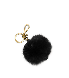 Fur Keychain by Michael Kors