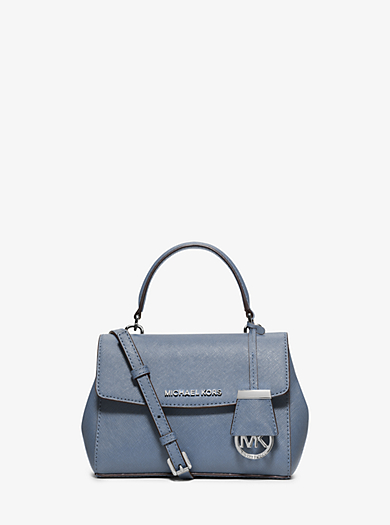 Tracolla Ava extra-small in pelle Saffiano by Michael Kors