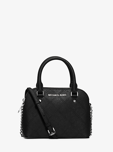 Cindy Extra-Small Saffiano Leather Crossbody by Michael Kors
