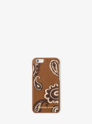 Jet Set Travel Phone Cover Fits iPhone 6 by Michael Kors