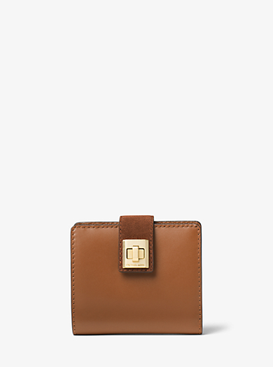 Natalie Medium Leather Wallet by Michael Kors