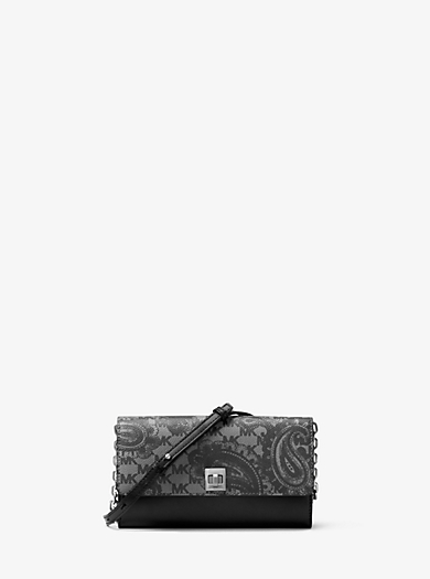 Natalie Extra-Large Heritage Paisley Wallet by Michael Kors