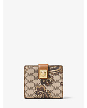 Natalie Medium Heritage Paisley Wallet