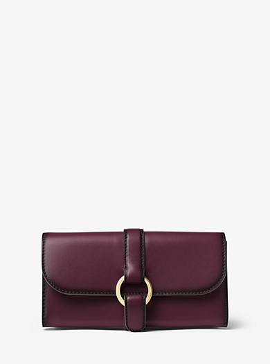 Quincy Large Leather Wallet by Michael Kors