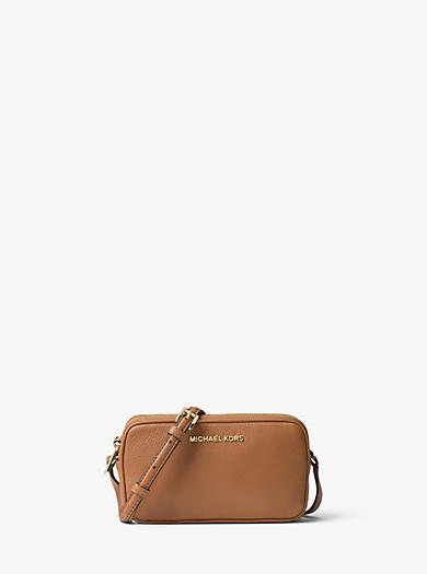 Bedford Medium Leather Crossbody  by Michael Kors