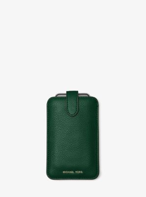 Pebbled-Leather Phone Sleeve For iPhone 6/6s by Michael Kors