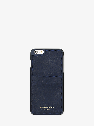 Saffiano Leather Phone Case by Michael Kors