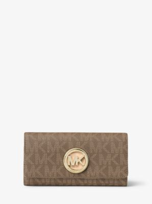 Fulton Logo Carryall Wallet by Michael Kors