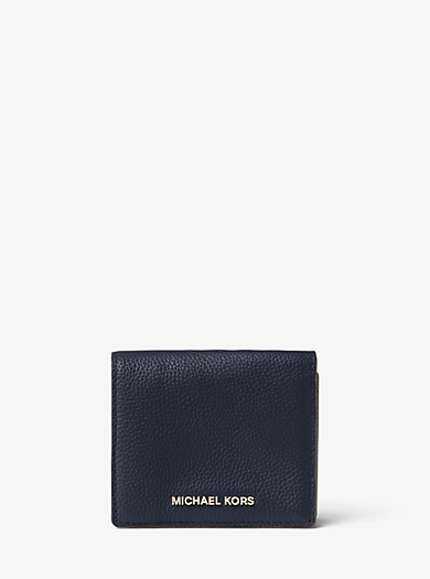 Porta carte di credito Mercer in pelle by Michael Kors