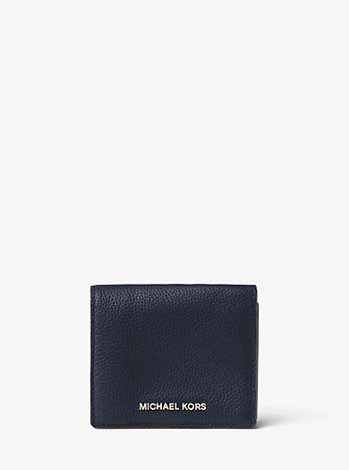 Porta carte di credito Mercer in pelle by Michael Kors