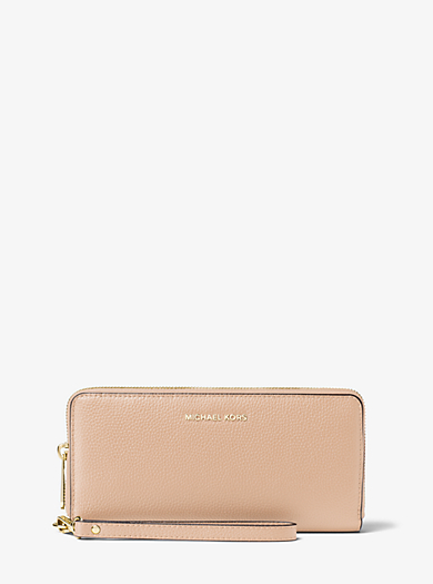 Pochette da polso continental Jet Set Travel in pelle by Michael Kors