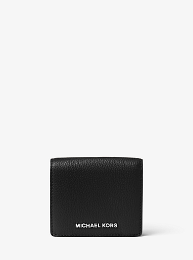 Bedford Leather Card Holder by Michael Kors