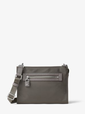 Janie Large Nylon Crossbody by Michael Kors