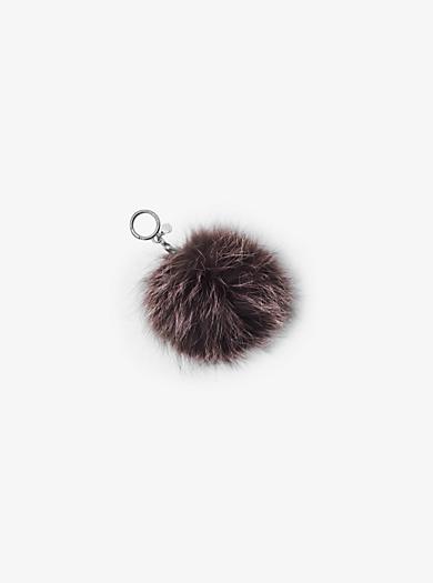 Fur Keychain by Michael Kors