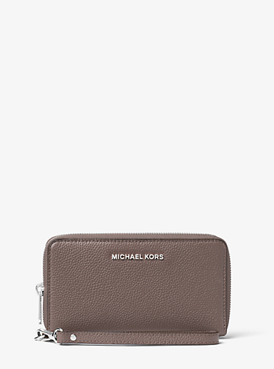 Mercer Large Leather Phone Case by Michael Kors