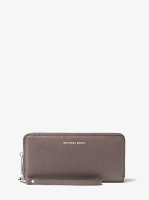 Mercer Leather Continental Wristlet by Michael Kors