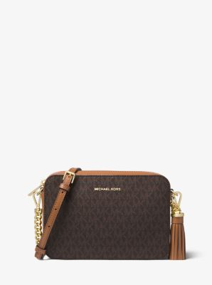 Ginny Medium Logo Crossbody by Michael Kors