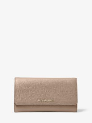 마이클 마이클 코어스 Michael Michael Kors Leather Tri-Fold Wallet