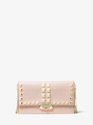 [NEW] 마이클 마이클 코어스 씨씨백 컨버터블 라지 - 소프트 핑크 Michael Michael Kors Cece Large Studded Leather Convertible Crossbody Bag,SOFT PINK