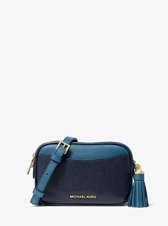 Jet Set Small Two-Tone Pebbled Leather Convertible Belt Bag | Michael Kors