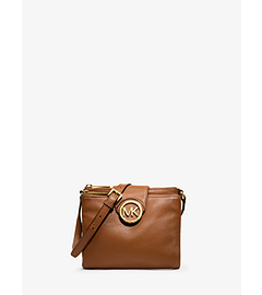 Fulton Large Leather Crossbody
