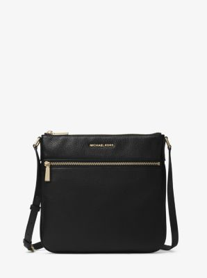 마이클 마이클 코어스 Michael Michael Kors Bedford Leather Crossbody,BLACK