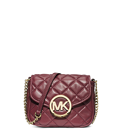 Fulton Quilted-Leather Crossbody
