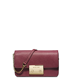 Sloan Saffiano Leather Crossbody