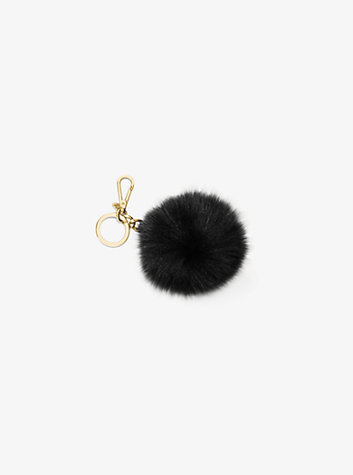 Extra-Large Fur Keychain  by Michael Kors