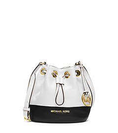 Jules Color-Block Leather Crossbody by Michael Kors