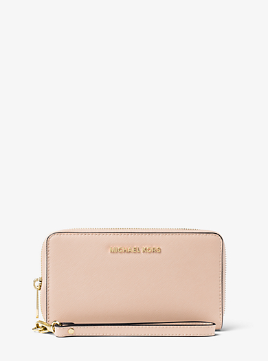 Smartphone-Handgelenktasche Jet Set Travel Large by Michael Kors