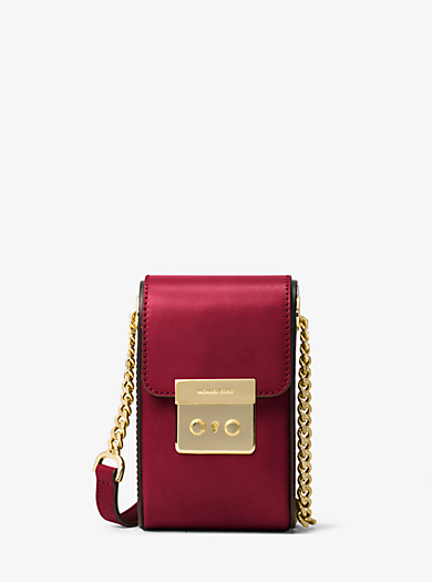 Scout Leather Camera Bag by Michael Kors