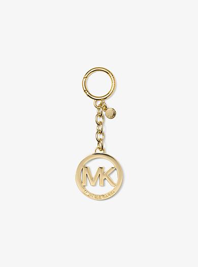Portachiavi con logo tonalità oro by Michael Kors