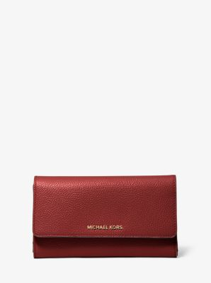 마이클 마이클 코어스 Michael Michael Kors Tri-Fold Leather Wallet