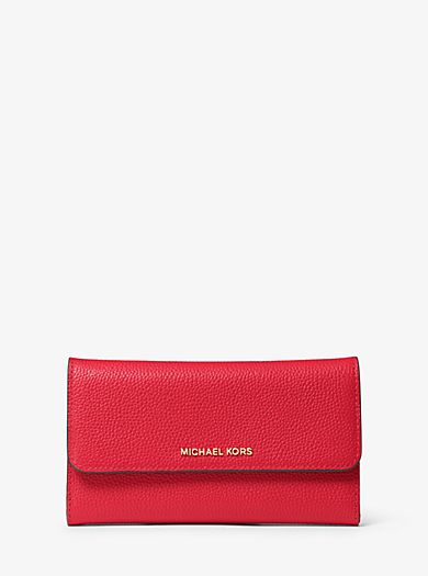 Mercer Tri-Fold Leather Wallet by Michael Kors