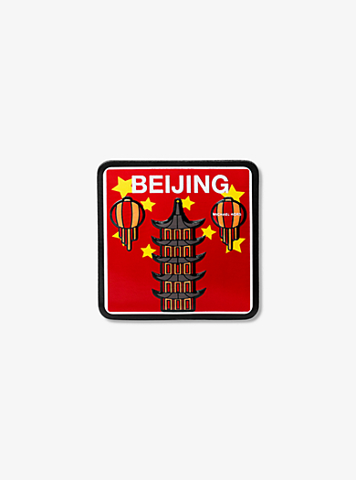 Sticker Beijing in pelle by Michael Kors