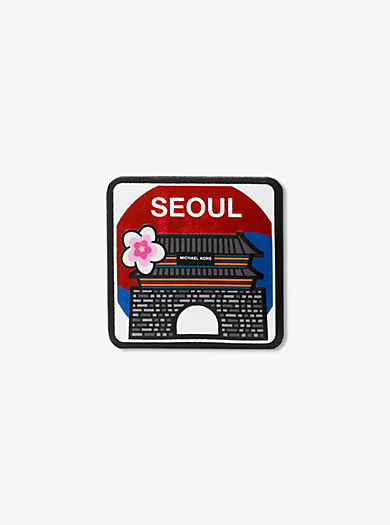 Seoul Leather Sticker by Michael Kors