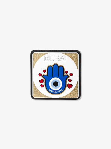 Dubai Leather Sticker by Michael Kors