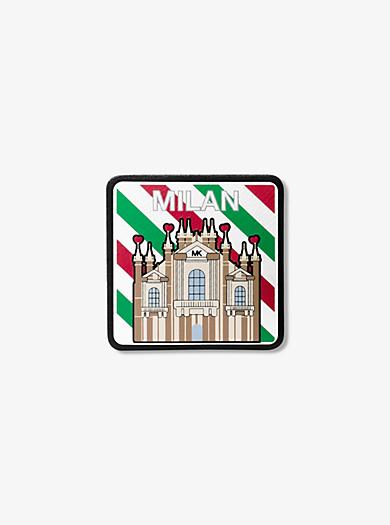 Milan Leather Sticker by Michael Kors