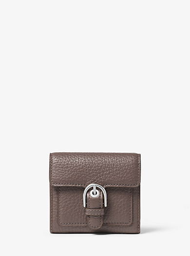 Cooper Medium Leather Carryall Card Holder by Michael Kors