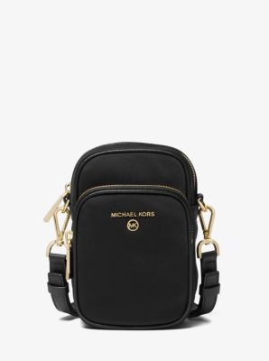 마이클 마이클 코어스 Michael Michael Kors Small Nylon Gabardine Camera Bag,BLACK