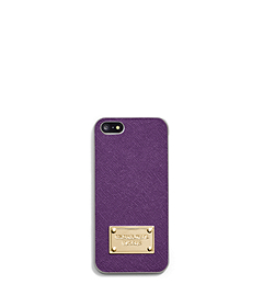 Saffiano Leather Phone Case