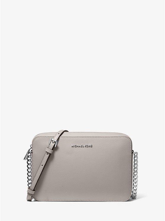 Jet Set Large Saffiano Leather Crossbody Bag | Michael Kors