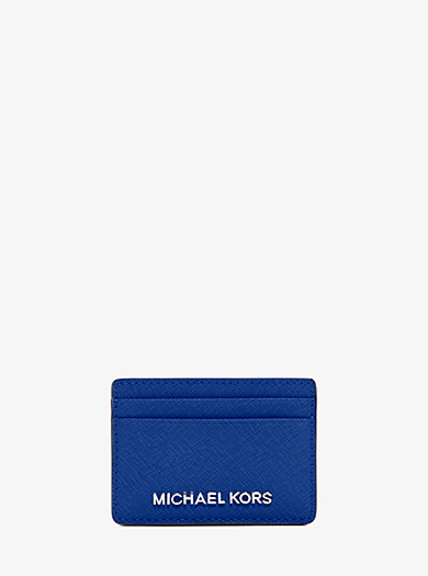 Kartenetui Jet Set Travel aus Saffianleder by Michael Kors