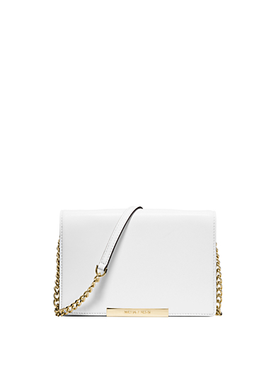Lana Leather Clutch by Michael Kors