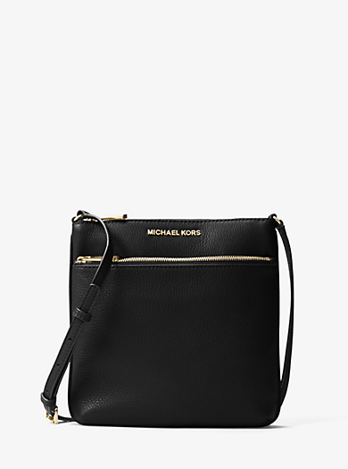 Riley Small Pebbled-Leather Crossbody by Michael Kors