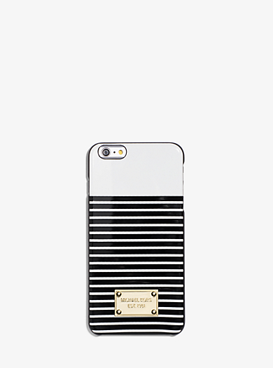 Striped Smartphone Case  by Michael Kors