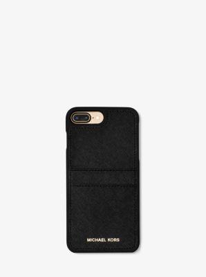 saffiano leather phone case for iphone 7 plus michael kors. Black Bedroom Furniture Sets. Home Design Ideas