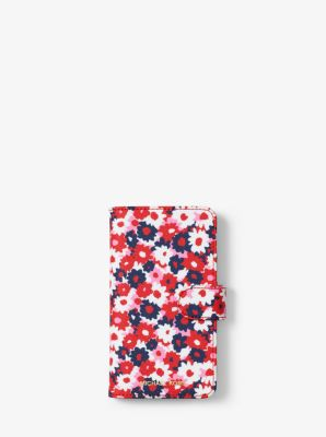 마이클 코어스 아이폰8 케이스 Michael Kors Carnation Folio Case For iPhone 8,BEGONIA